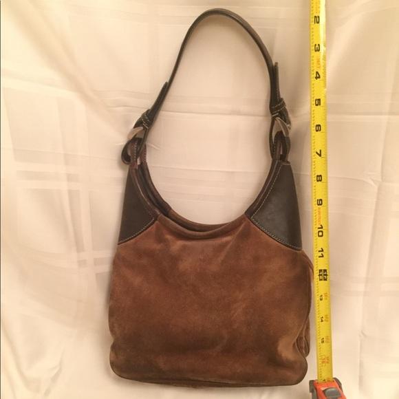 Prada Bags   Brown Suede Over Shoulder Hobo Bag   Poshmark 306d10d5be